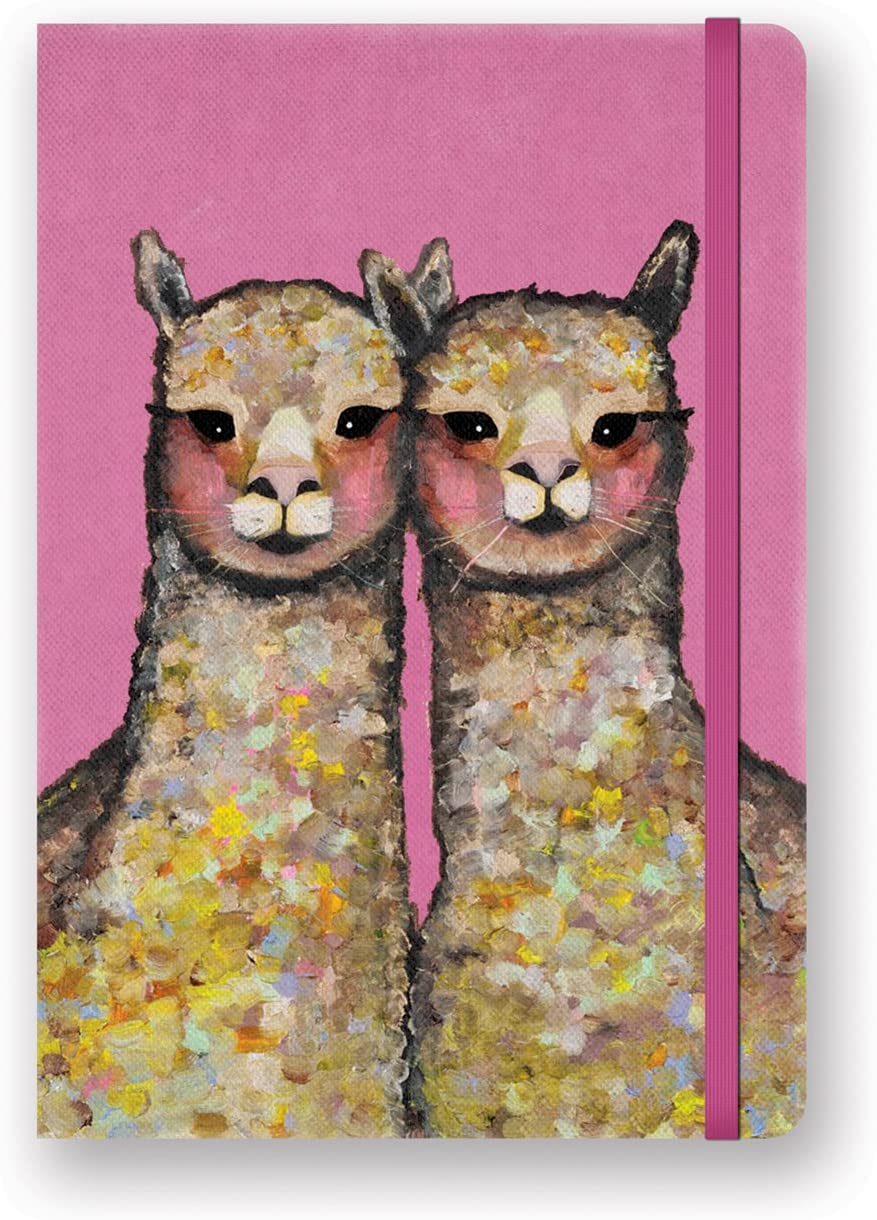 Alpaca Canvas Hardcover Journal