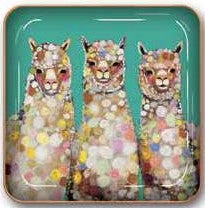 Alpaca Small Metal Catchall Tray