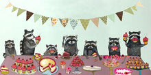Load image into Gallery viewer, Cupcake Party  - Canvas Giclée Print