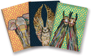 Majestic Animals Notebook Trio