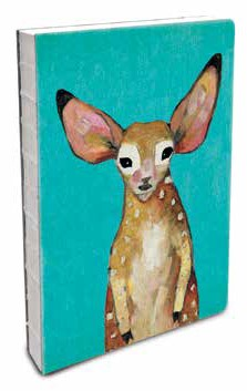 Sweet Fawn Canvas Hardcover Journal