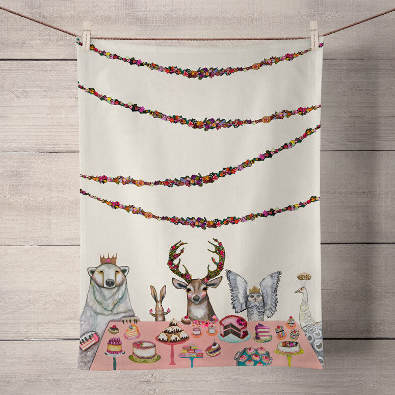 Sweets Soiree Tea Towel