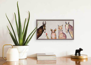 "Alpaca and Pals - Neutral Mini Print 10""x5"""