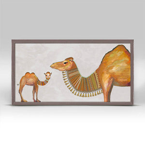 "Baby Camel - Neutral Mini Print 10""x5"""