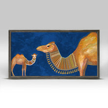 "Load image into Gallery viewer, Baby Camel Mini Print 10""x5"""