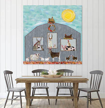 Load image into Gallery viewer, Barn Party - Canvas Giclée Print