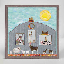 "Load image into Gallery viewer, Barn Party Mini Print 6""x6"""