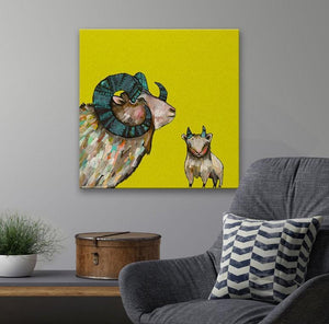Baby Dall Sheep - Canvas Giclée Print