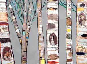 Birch Trees Placemat