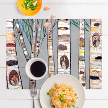 Load image into Gallery viewer, Birch Trees Placemat