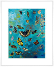 Load image into Gallery viewer, Butterfly Flurry - Canvas Giclée Print
