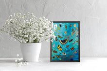 "Load image into Gallery viewer, Bunch of Butterflies Mini Print 5""x7"""