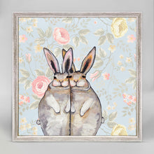 "Load image into Gallery viewer, Bunny Friends - Floral Mini Print 6""x6"""
