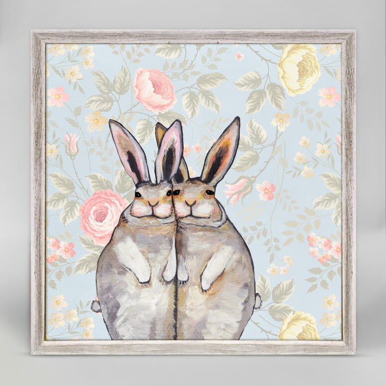 Bunny Friends - Floral Mini Print 6