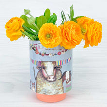 Load image into Gallery viewer, Cornbread Muffins Large Vase NEW FOR SPRING