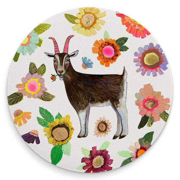 Farmers Market Sheep Coaster