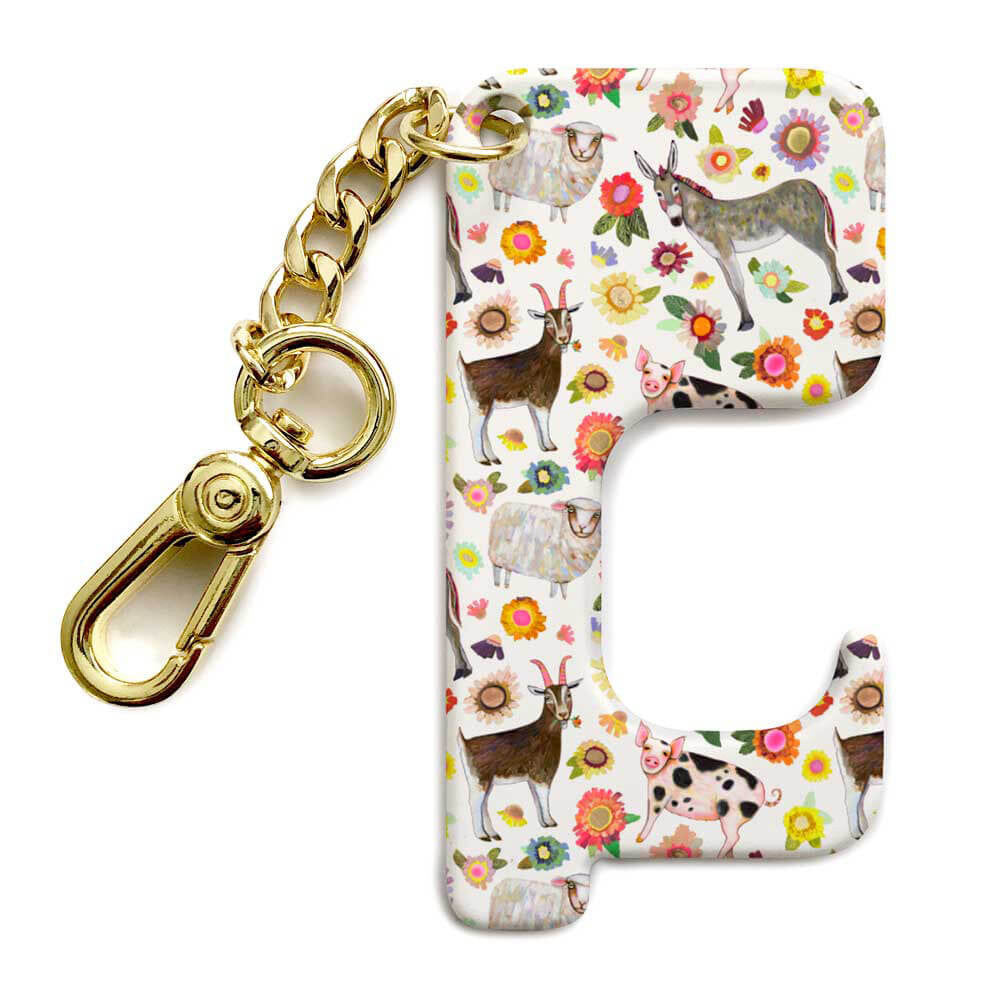 Farmers Market Hands-Free Door Opener Key Chain