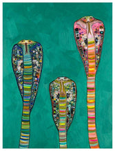 Load image into Gallery viewer, Glass Cobras - Canvas Giclée Print