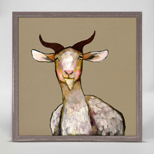"Load image into Gallery viewer, Goat Mini Print 6""x6"""
