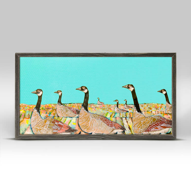 Golden Geese Mini Print 10