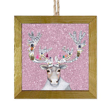 Load image into Gallery viewer, Holiday - Caribou Cookied Embellished Ornament