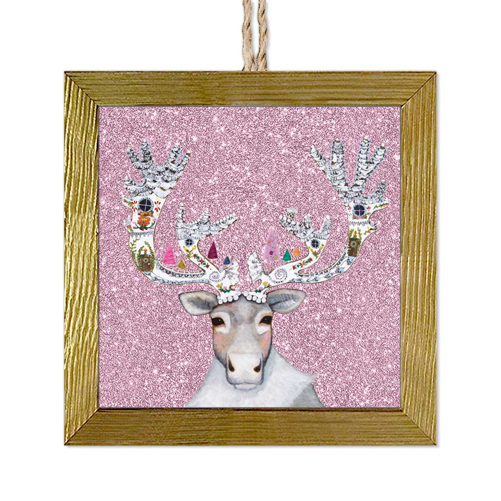 Holiday - Caribou Cookied Embellished Ornament