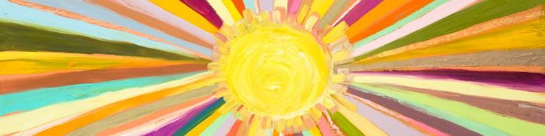 Little Sunshine - Canvas Giclée Print
