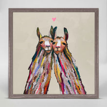 "Load image into Gallery viewer, Llama Love - Neutral Mini Print 6""x6"""