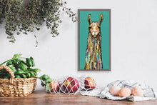 "Load image into Gallery viewer, Llama Mini Print 5""x10"""