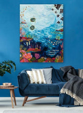 Load image into Gallery viewer, Manta Ray Reef - Canvas Giclée Print