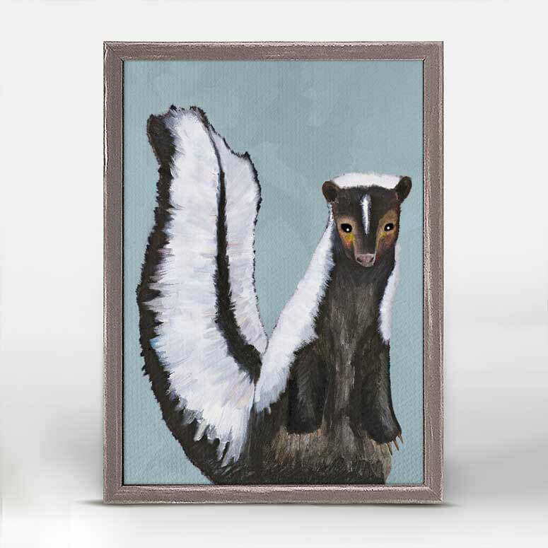 Miss Skunk Mini Print 5