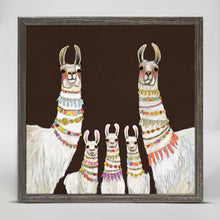 "Load image into Gallery viewer, Necklaces - Chocolate Brown Mini Print 6""x6"""