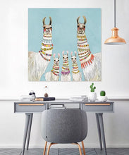 Load image into Gallery viewer, Necklaces Sky Blue - Canvas Giclée Print