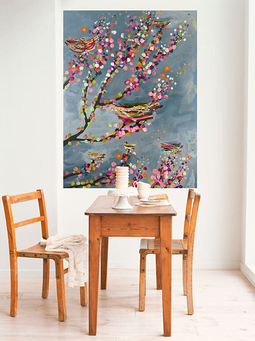 Nests & Berries Wall Decal 54