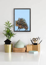 "Load image into Gallery viewer, Paintbrush Porcupine Mini Print 5""x7"""
