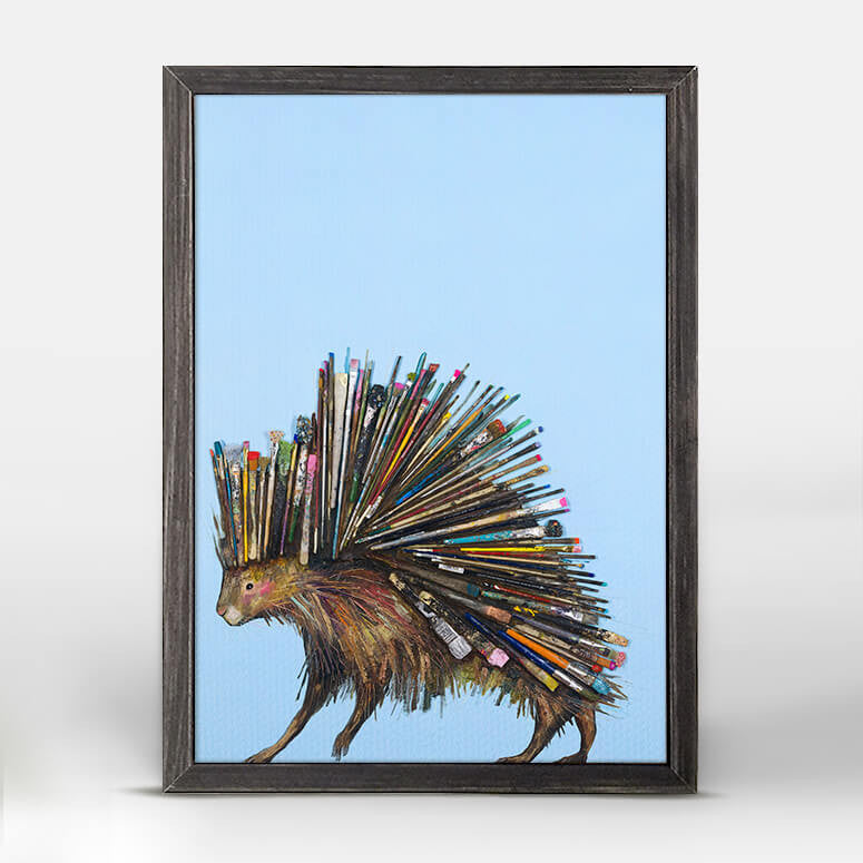 Paintbrush Porcupine Mini Print 5