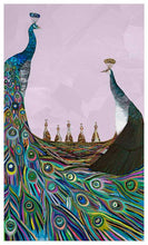 Load image into Gallery viewer, Peachicks on Lavender - Canvas Giclée Print