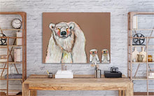 Load image into Gallery viewer, Polar Bear Cubs - Canvas Giclée Print