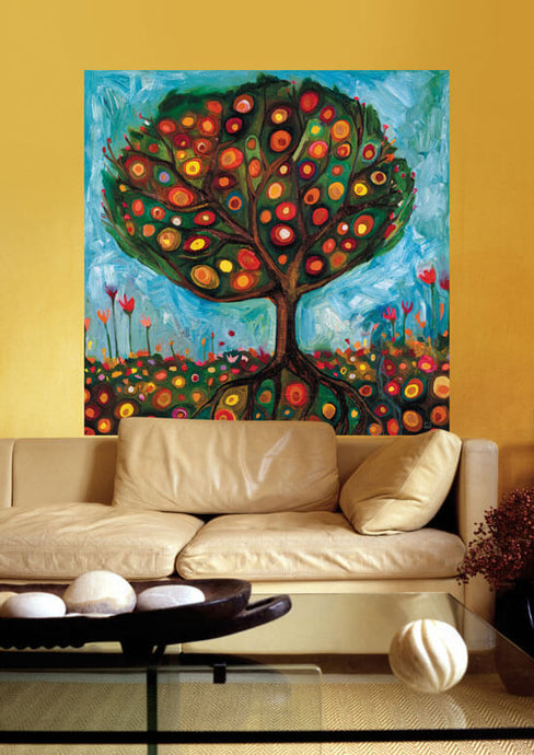 Pomegranate Tree Wall Decal 54