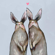 Load image into Gallery viewer, Rabbit Love - Canvas Giclée Print