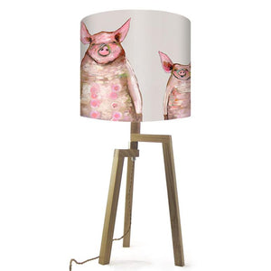 Piggies in a Row - Lamp
