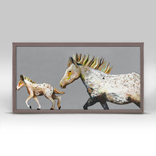 "Load image into Gallery viewer, Speckled Pony Ride Mini Print 10""x5"""