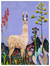 Load image into Gallery viewer, Tall Girl in Lavender - Canvas Giclée Print
