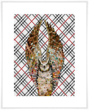 Load image into Gallery viewer, Owl Ballet Tartan - Canvas Giclée Print