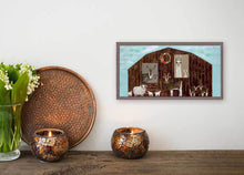 "Load image into Gallery viewer, The Barn Mini Print 10""x5"""