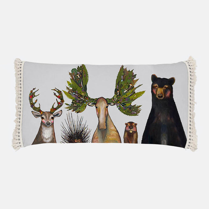 The Forest Five Pillow