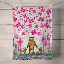 Load image into Gallery viewer, Mama Bear Tea Towel