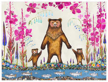 Load image into Gallery viewer, Mama Bear - Canvas Giclée Print