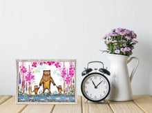 "Load image into Gallery viewer, Mama Bear Mini Print 7""x5"""