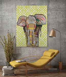 Trendy Trunk - Canvas Giclée Print